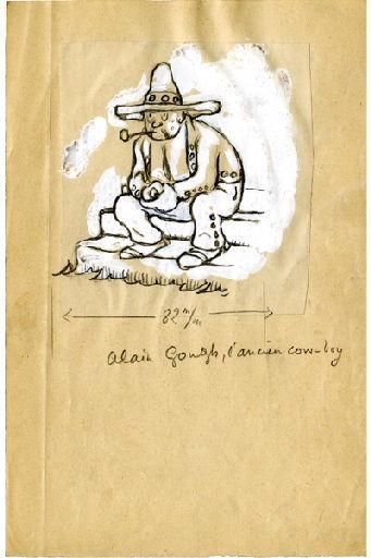 U-713 ou les gentilshommes d'infortune : Alain Gough, l'ancien cow-boy