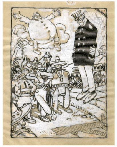 BLANCHOT Gustave (dessinateur), BOFA Gus (dit, dessinateur) : U-713 ou les gentilshommes d'infortune