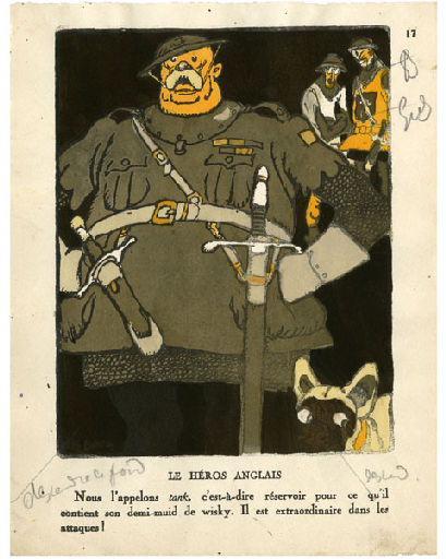 BLANCHOT Gustave (dessinateur), BOFA Gus (dit, dessinateur); DUMARCHEY Pierre (écrivain), MAC ORLAN Pierre (dit, écrivain) : Livre de la Guerre de Cent Ans (Le) : Le héros anglais