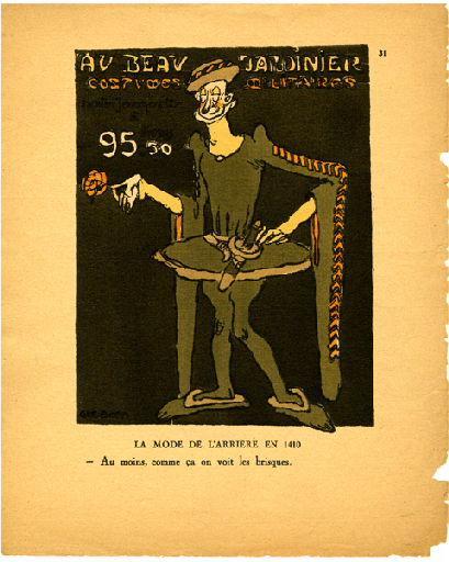 Livre de la Guerre de Cent Ans (Le) : La mode de l'arrière en 1410_0