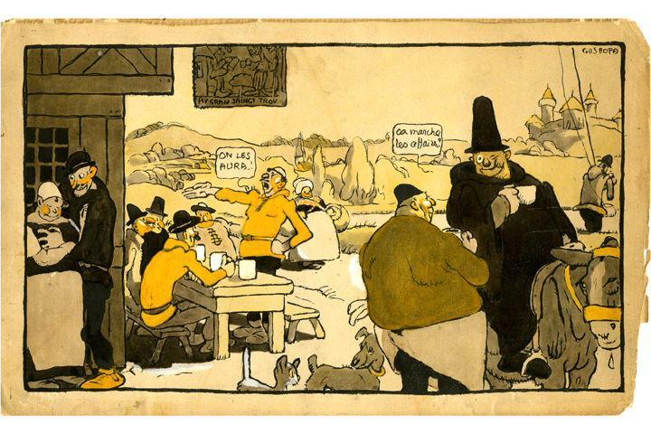 BLANCHOT Gustave (dessinateur), BOFA Gus (dit, dessinateur), DUMARCHEY Pierre (écrivain), MAC ORLAN Pierre (dit, écrivain) : Livre de la Guerre de Cent Ans (Le)