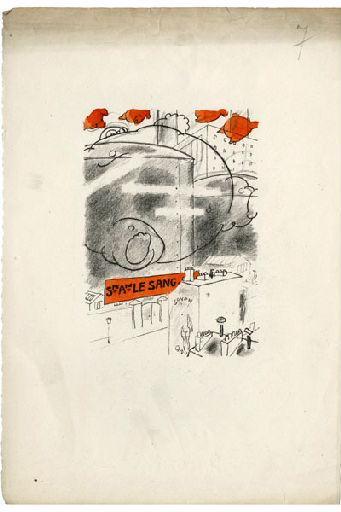 BLANCHOT Gustave (dessinateur), BOFA Gus (dit, dessinateur) : A l'Hôpital Marie-Madeleine