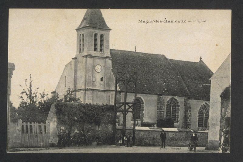 BOUQUET (éditeur) : MAGNY : L'Eglise