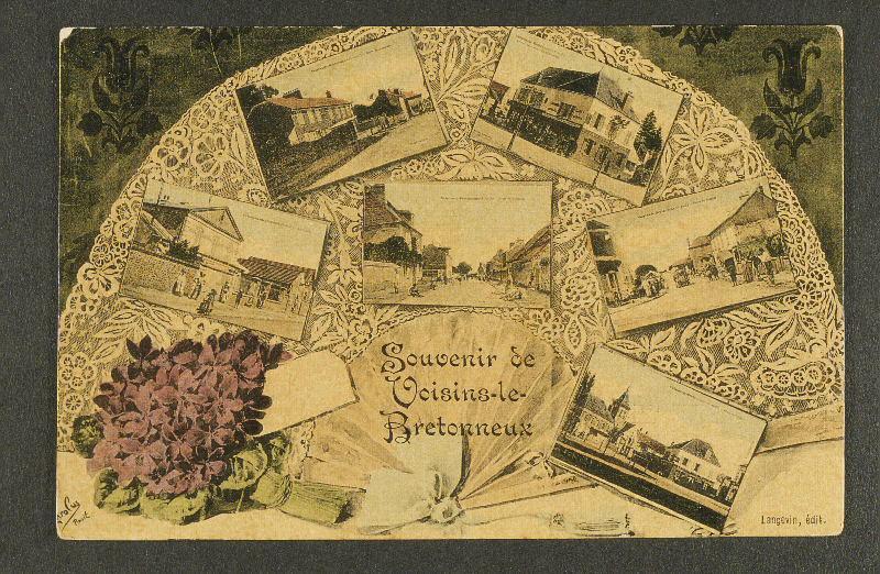 LANGEVIN (éditeur) : Souvenir de VOISINS-LE-BRETONNEUX