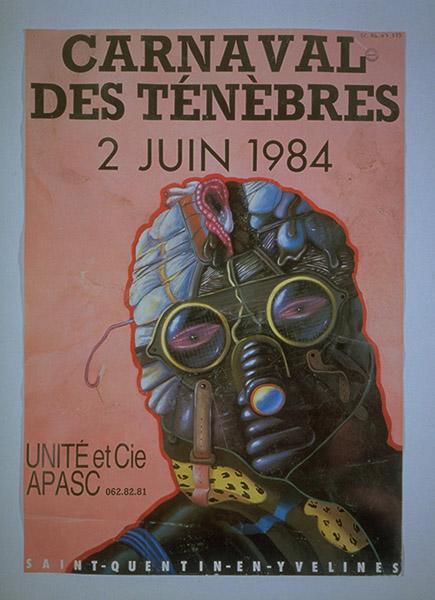 GIAI-MINIET Marc (peintre, graveur) : Carnaval des Ténèbres 1984