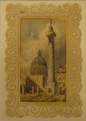 La colonne Trajanne à Rome