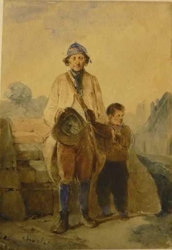 L'aveugle (Le mendiant du village)