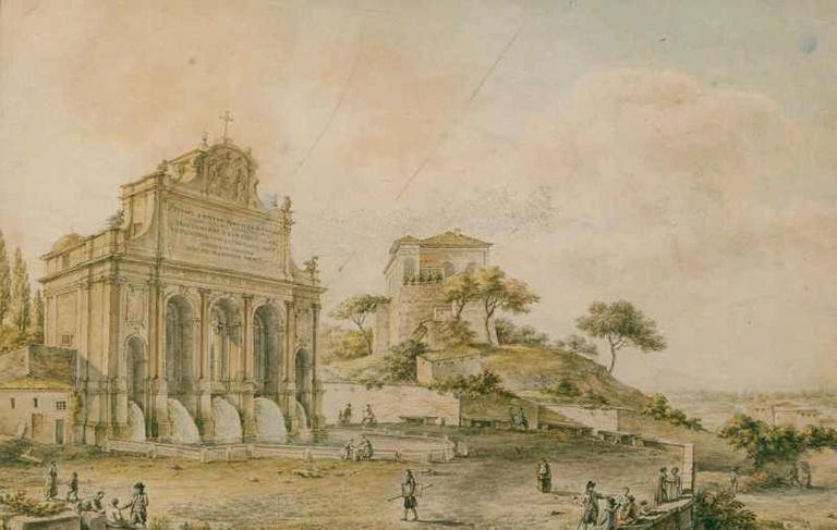 La fontaine Pauline à Rome_0