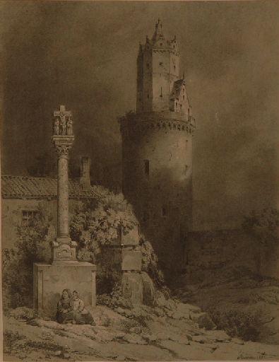 Le château de Lavardire, la tour d'Andenach_0