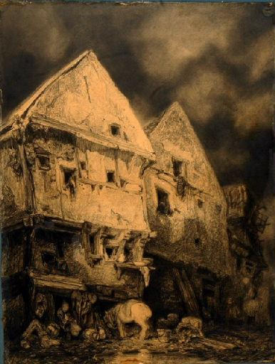 Vieilles maisons à Rouen_0