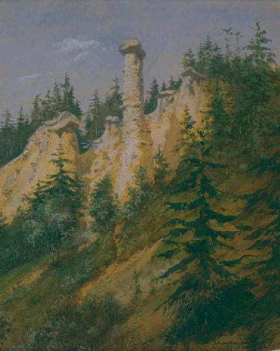 Les cheminées des Fées à Saint-Gervais_0