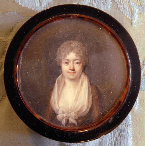 Miniature représentant Mme Desprez (montée sur une boîte)