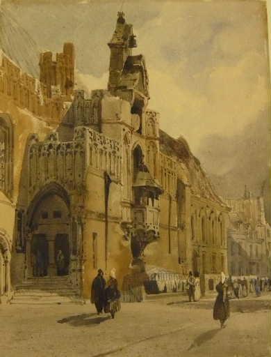 L'hôtel de ville de Saint-Omer