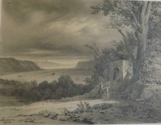 Bords du Rhin (la dévotion à la chapelle)