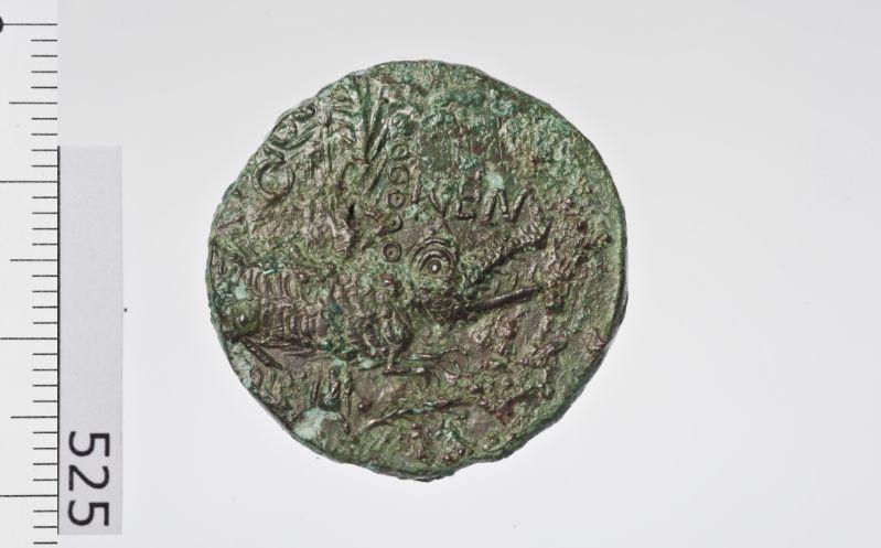 pièce de monnaie, as (As de Nîmes au crocodile)