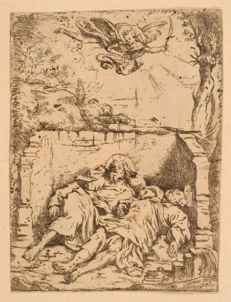 Corps de saint Pierre et de saint Paul au Sépulcre