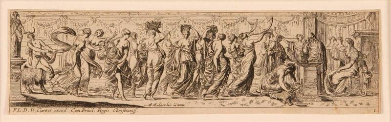 Frises romaines des cortèges sacrificiels et des bacchanales (01) : Cortège sacrificiel au bélier_0