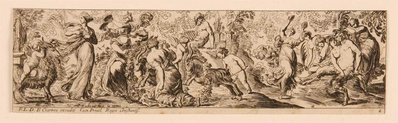 Frises romaines des cortèges sacrificiels et des bacchanales (06) : Bacchanale à la musique_0