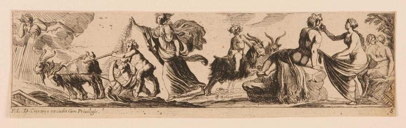 Frises romaines des cortèges sacrificiels et des bacchanales (08) : Cérès semant_0