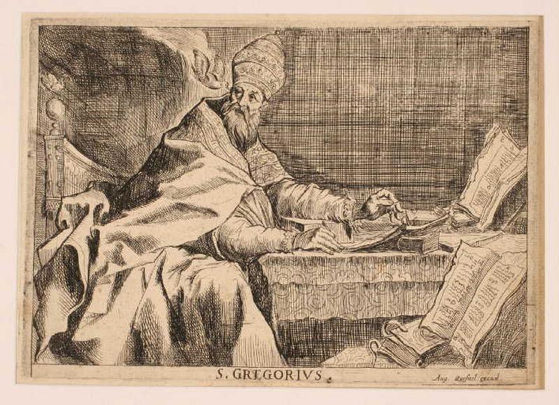 Suite des quatre docteurs de l'Eglise : Saint Grégoire_0