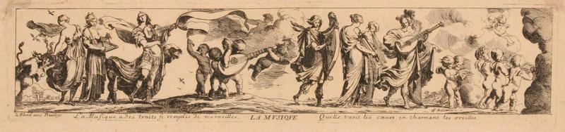 Allégorie de la Musique (Feuille en largeur sous forme de frise appartenant à une suite de pièces sur le thème des arts libéraux)_0