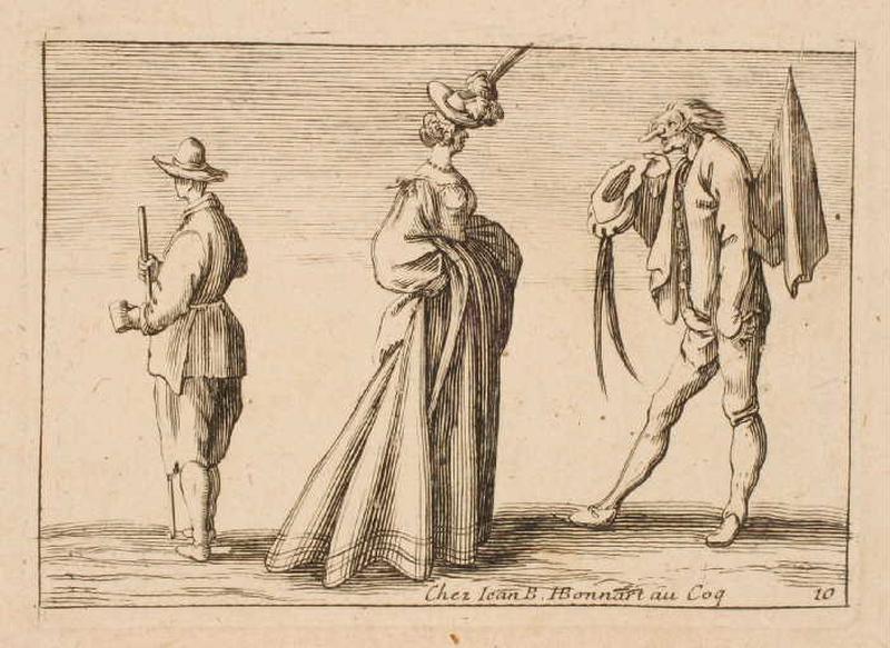 Trois personnages (Pièce en largeur)