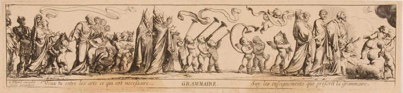 Suite des arts libéraux : Allégorie de la Grammaire_0