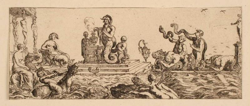 Ensemble dit Petites frises : Triomphes marins (03) ; Sacrifice aquatique_0