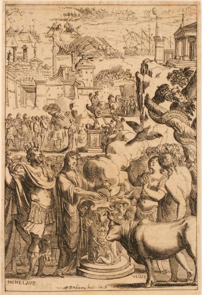 Les Métamorphoses d'Ovide : Ménélas et Ulysse_0