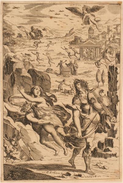Les Métamorphoses d'Ovide : Orphée et Eurydice