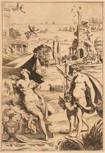Les Métamorphoses d'Ovide : Bacchus et Ariane_0