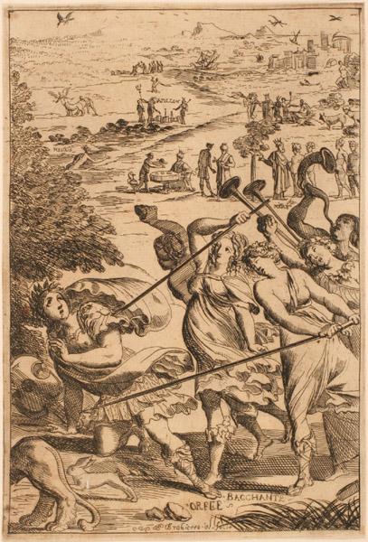 Les Métamorphoses d'Ovide : Orphée et les Bacchantes_0