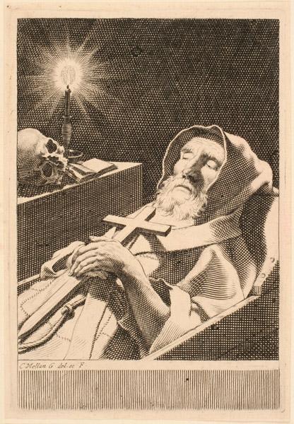 Saint François de Paule dans sa bière_0