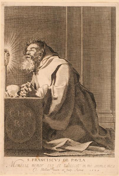 Saint François de Paule en prières_0