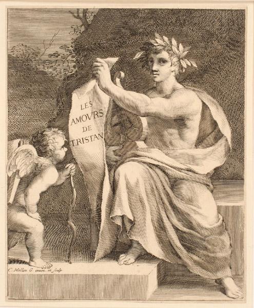 Titre-frontispice ; Apollon et l'Amour_0