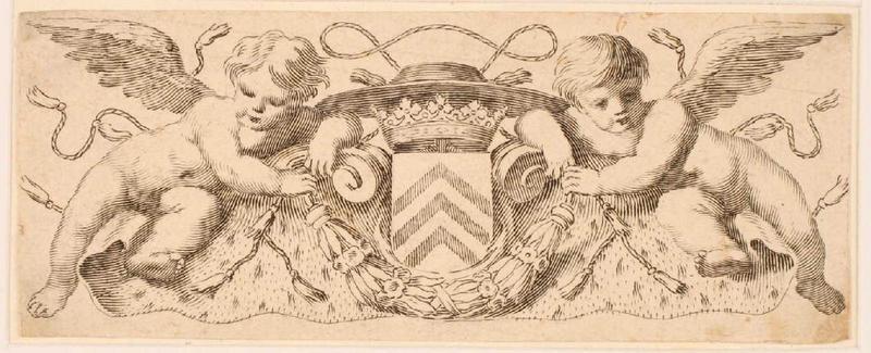 Bandeau aux armes du cardinal de Richelieu