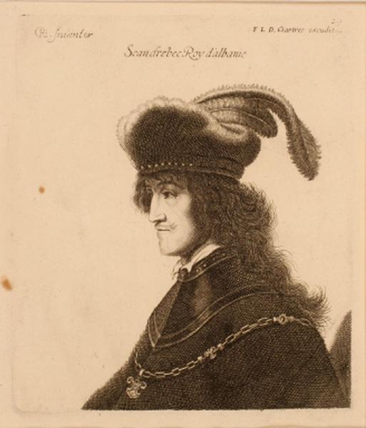 Scandrebec, roi d'Albanie_0