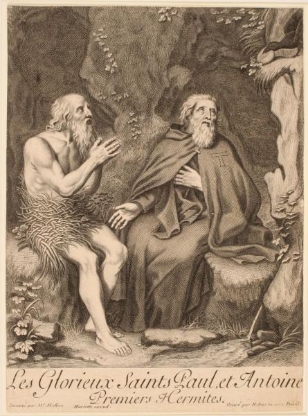 Saint Antoine et saint Paul