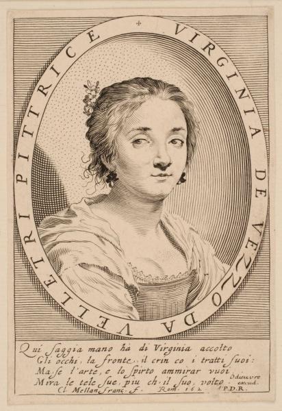 Portrait de Virginia da Vezzo