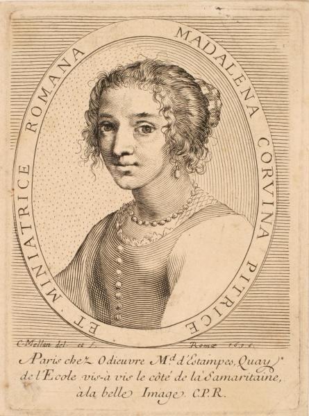 Portrait de Maddalena Corvina_0
