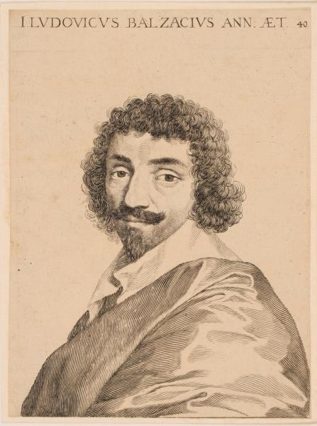 Portrait de Jean-Louis Guez de Balzac_0