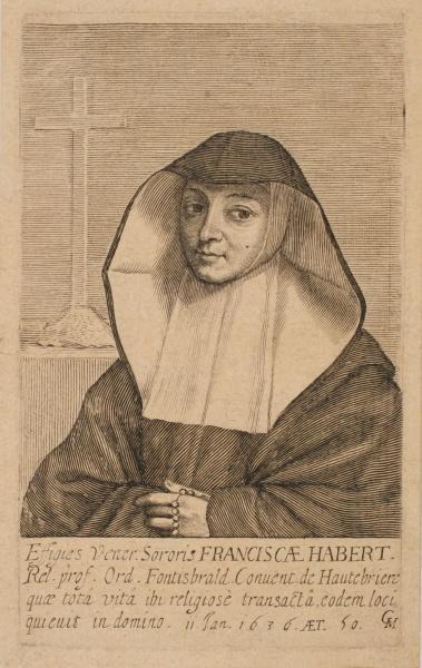 Portrait de soeur François Habert