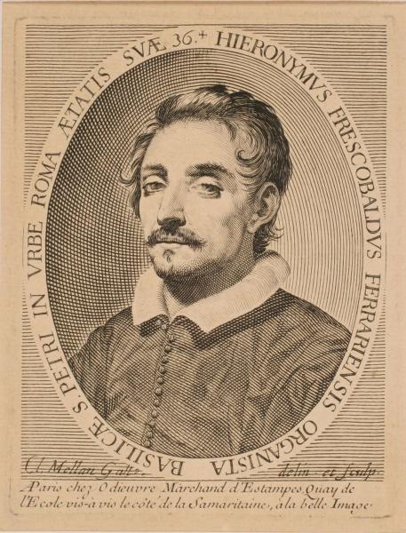 Portrait de Girolamo Frescobaldi