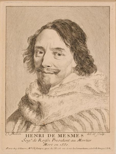 Portrait d'Henri de Mesmes