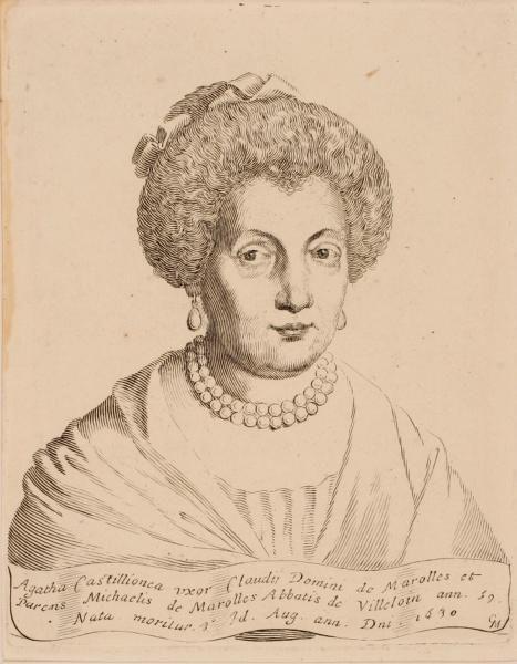 Portrait d'Agathe de Châtillon_0