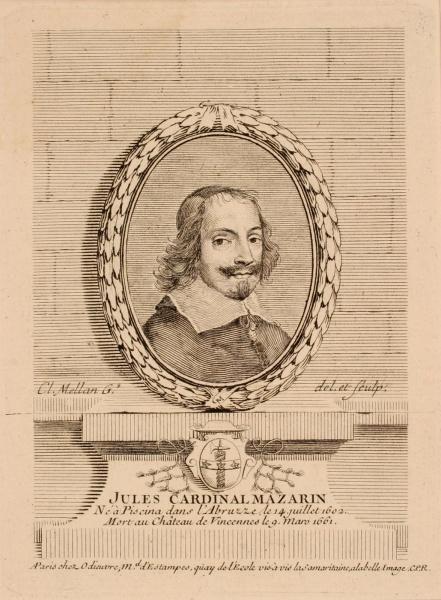 Portrait de Giulio Mazarini