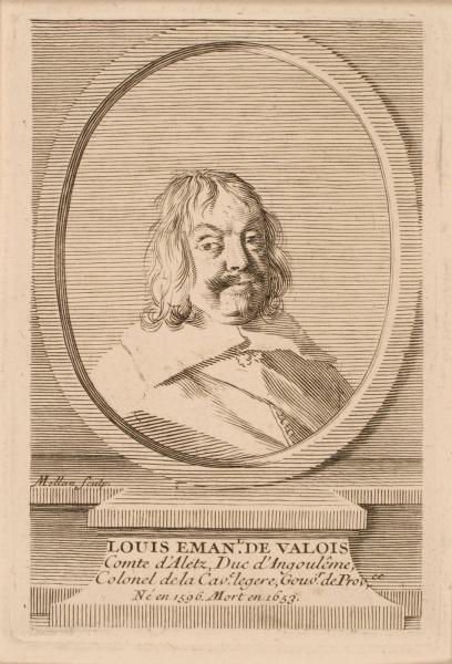 Portrait de Louis-Emmanuel de Valois