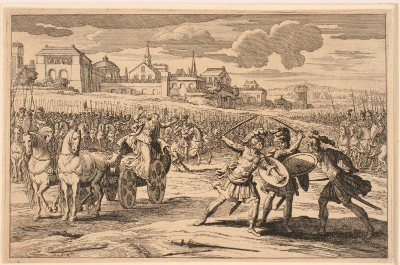 Combat de Clovis et de Sigismond_0