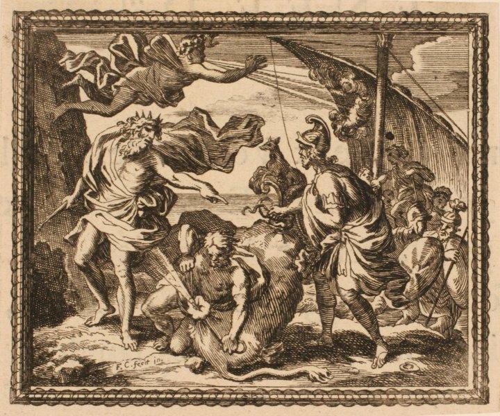 Les Métamorphoses d'Ovide : Vents enfermés dans un cuir de boeuf_0