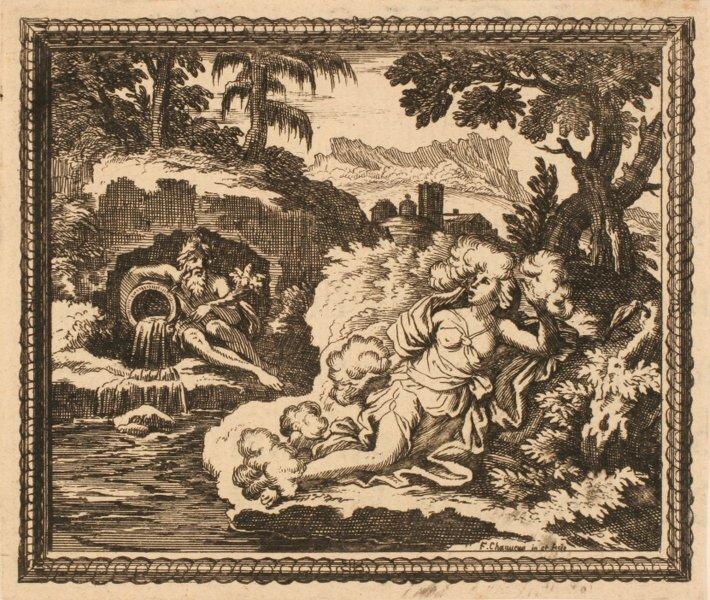Les Métamorphoses d'Ovide : Canate en air_0